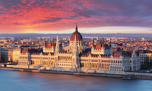 Parlament i Budapest